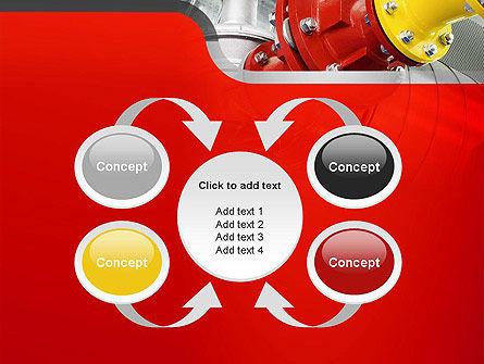 Industrial Pipe Junction PowerPoint Template Slide 6