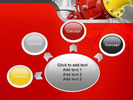 Industrial Pipe Junction PowerPoint Template Slide 7