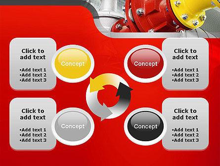 Industrial Pipe Junction PowerPoint Template Slide 9