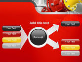 Industrial Pipe Junction PowerPoint Template#14