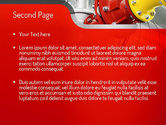 Industrial Pipe Junction PowerPoint Template#2