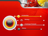 Industrial Pipe Junction PowerPoint Template#3