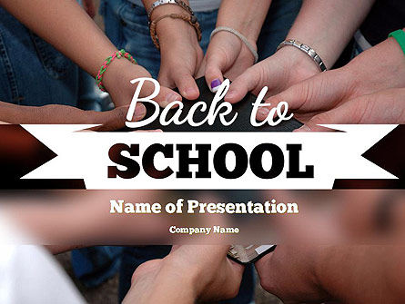 Back to School Concept PowerPoint Template