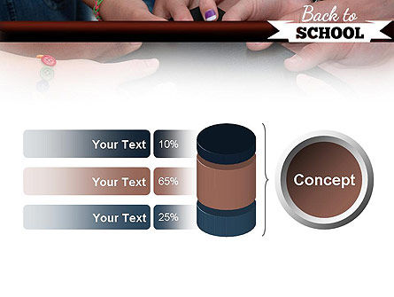 Back to School Concept PowerPoint Template Slide 11