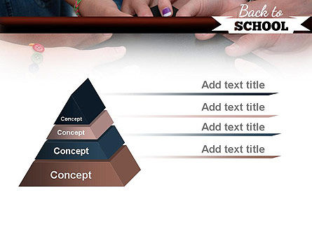 Back to School Concept PowerPoint Template Slide 12