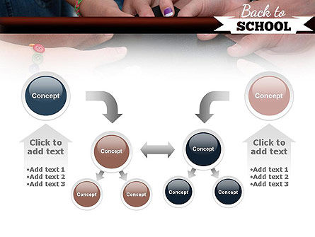 Back to School Concept PowerPoint Template Slide 19