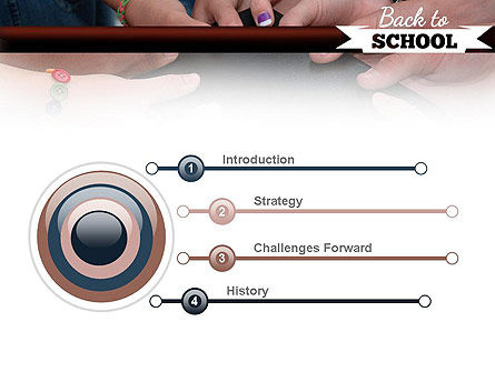 Back to School Concept PowerPoint Template Slide 3