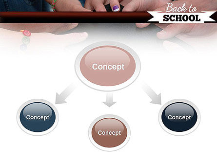 Back to School Concept PowerPoint Template, Slide 4, 11238, Education & Training — PoweredTemplate.com