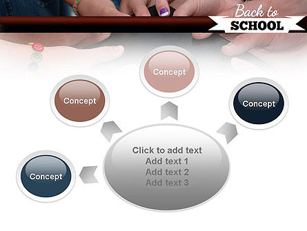Back to School Concept PowerPoint Template Slide 7