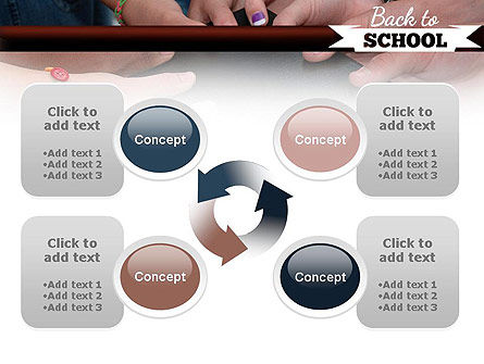 Back to School Concept PowerPoint Template Slide 9
