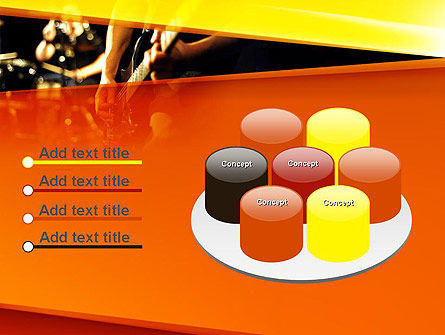 Live Band PowerPoint Template Slide 12