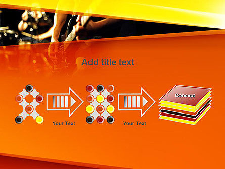 Live Band PowerPoint Template Slide 9
