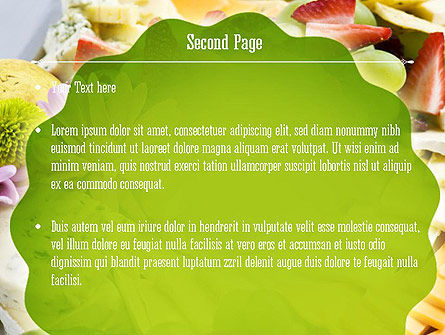 Baby Shower Food PowerPoint Template Slide 2