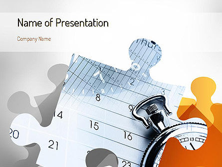 Timing is Everything PowerPoint Template, 11242, Business Concepts — PoweredTemplate.com