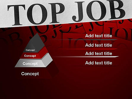 Top Job PowerPoint Template Slide 12