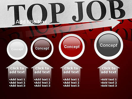 Top Job PowerPoint Template Slide 13