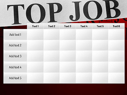 Top Job PowerPoint Template Slide 15