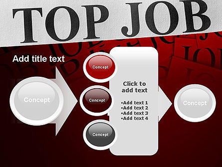 Top Job PowerPoint Template Slide 17