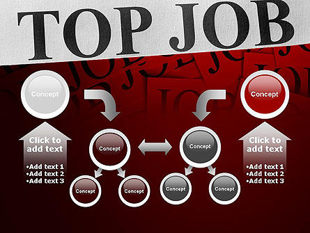 Top Job PowerPoint Template Slide 19