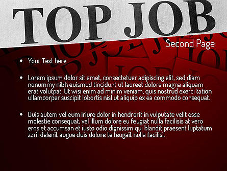 Top Job PowerPoint Template Slide 2