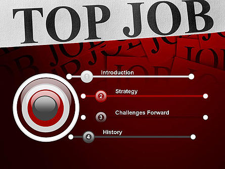 Top Job PowerPoint Template, Slide 3, 11243, Careers/Industry — PoweredTemplate.com