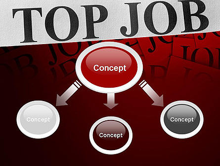 Top Job PowerPoint Template, Slide 4, 11243, Careers/Industry — PoweredTemplate.com