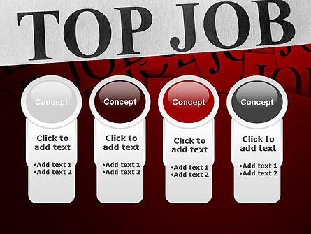 Top Job PowerPoint Template Slide 5
