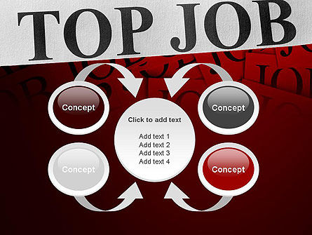 Top Job PowerPoint Template Slide 6