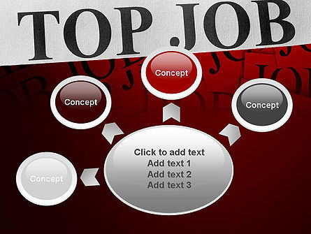 Top Job PowerPoint Template Slide 7