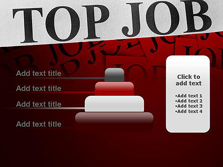 Top Job PowerPoint Template Slide 8