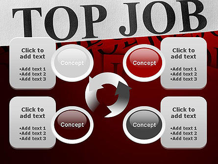Top Job PowerPoint Template Slide 9