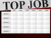 Top Job PowerPoint Template#15