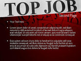 Top Job PowerPoint Template#2