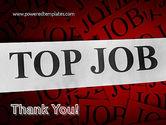 Top Job PowerPoint Template#20