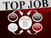 Top Job PowerPoint Template#6
