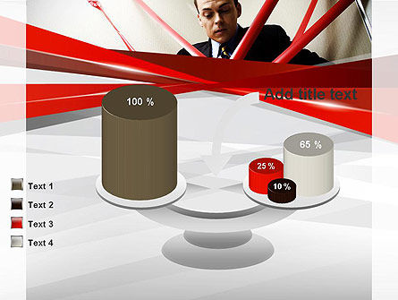 Red Tape PowerPoint Template Slide 10