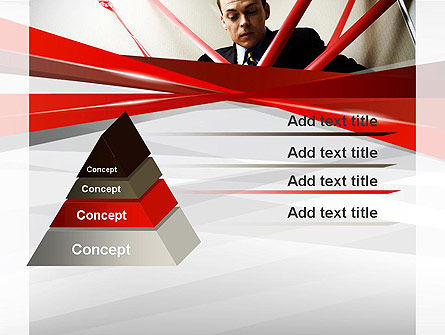 Red Tape PowerPoint Template Slide 12