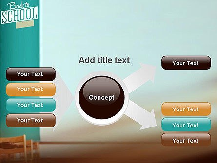 Classroom PowerPoint Template Slide 14