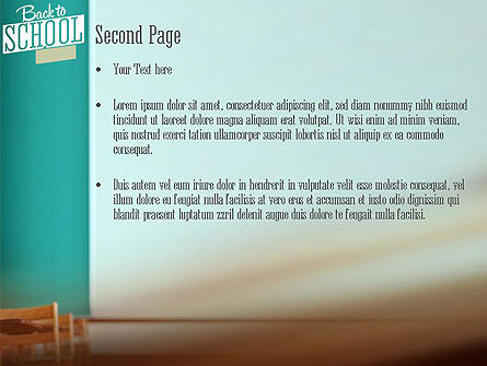 Classroom PowerPoint Template Slide 2