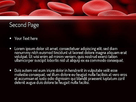 RBC Cells PowerPoint Template, Slide 2, 11247, Medical — PoweredTemplate.com