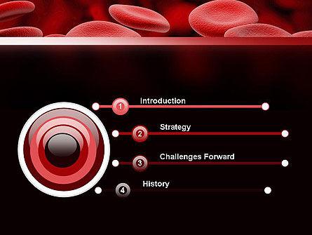 RBC Cells PowerPoint Template, Slide 3, 11247, Medical — PoweredTemplate.com