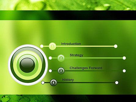 Green Organization PowerPoint Template, Slide 3, 11248, Nature & Environment — PoweredTemplate.com