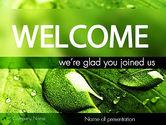 Nature & Environment: Green Organization PowerPoint Template #11248