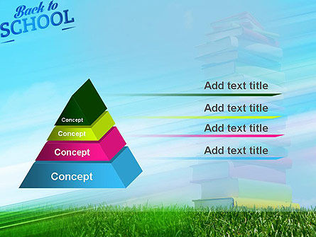 Books for Children PowerPoint Template Slide 12