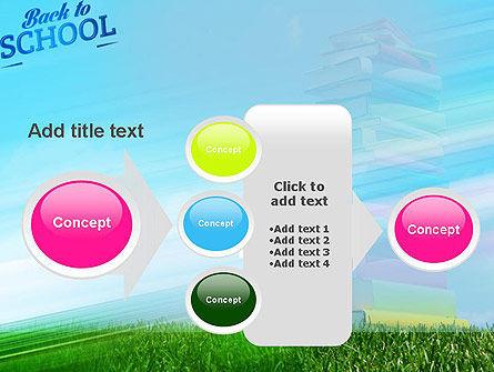 Books for Children PowerPoint Template Slide 17