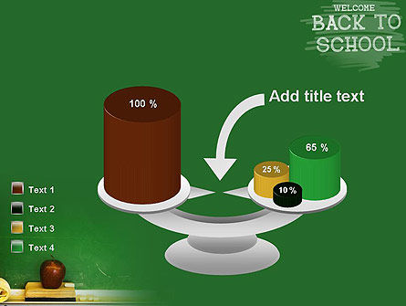 School Chalkboard PowerPoint Template Slide 10