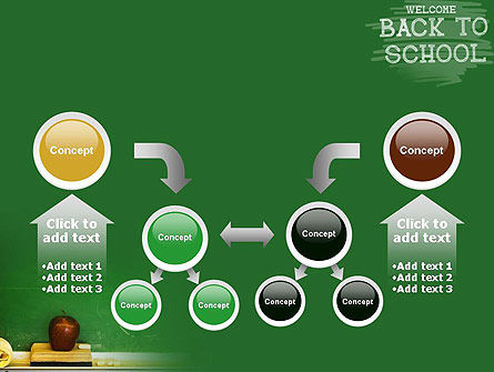 School Chalkboard PowerPoint Template Slide 19