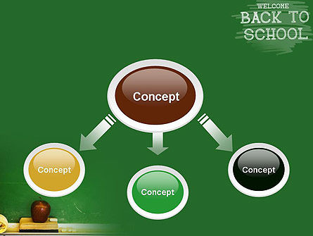 School Chalkboard PowerPoint Template Slide 4