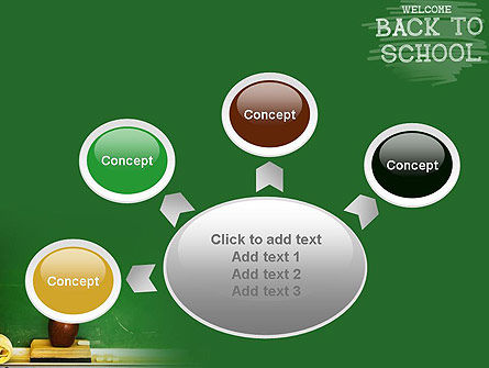 School Chalkboard PowerPoint Template Slide 7
