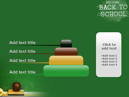 School Chalkboard PowerPoint Template Slide 8